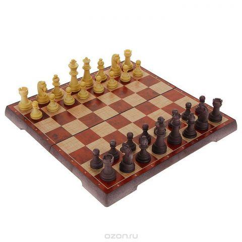 """Игровой набор UBON 2в1 """"Шахматы, шашки"""", размер: 32х16х4 см. 4856-С"""