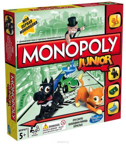 Hasbro Games Настольная игра Моя первая монополия