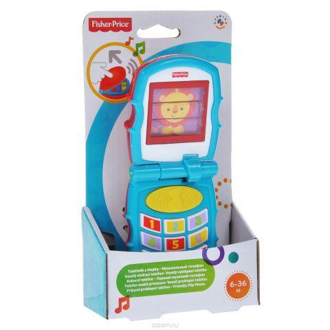 Fisher-Price Infant Музыкальная игрушка Раскладной телефон
