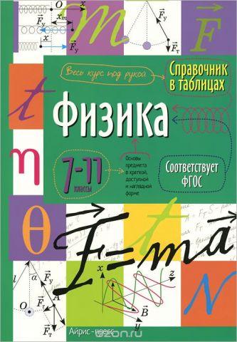 Физика. 7-11 класс. Справочник в таблицах