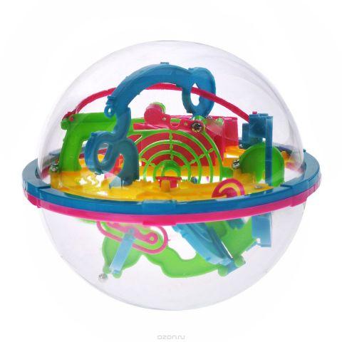 """3D-головоломка """"Maze Ball"""", 100 барьеров, 13 см"""