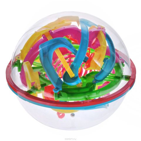 """3D-головоломка """"Maze Ball"""", 138 барьеров, 17 см"""
