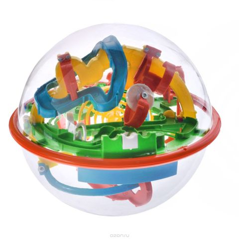 """3D-головоломка """"Maze Ball"""", 118 барьеров, 16 см"""