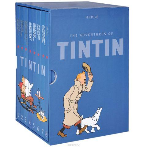 The Adventures of Tintin (комплект из 8 книг)