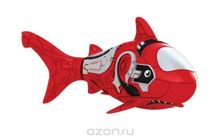 """Игрушка для ванны Robofish """"РобоРыбка: Акула"""", цвет: красный"""