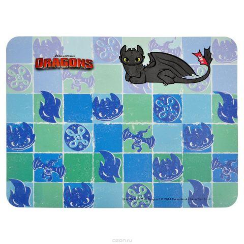 """Настольная подкладка для лепки Action! """"Dragons"""", 43 см х 32 см"""