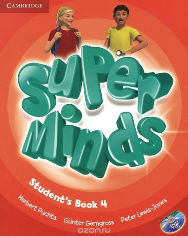 Super Minds 4: Student's Book (+ DVD-ROM)
