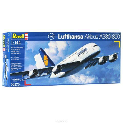 """Сборная модель Revell """"Самолет Lufthansa Airbus A380-800"""""""