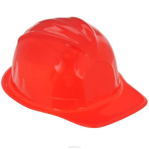 """Маскарадная шляпа """"Каска"""", цвет: красный, 51,5 см. 31346"""