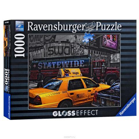 Ravensburger Желтое такси. Пазл с глянцевым эффектом, 1000 элементов