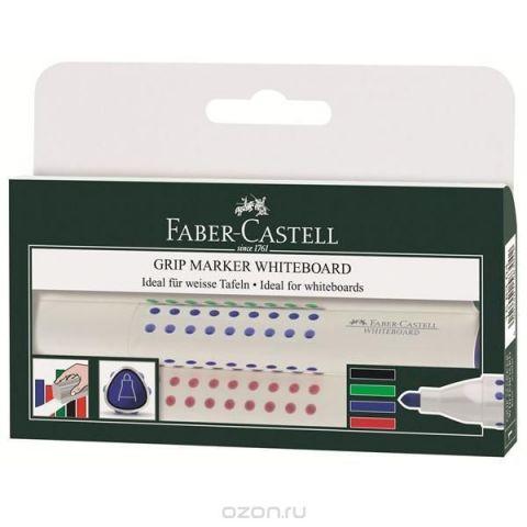 Faber-Castell Набор маркеров Grip 4 цвета