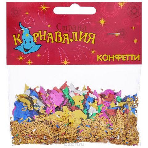 "Новогоднее конфетти Sima-land ""Голуби и сердца"", 14 г. 321701"