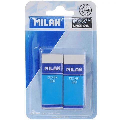 """Набор ластиков """"Milan"""", 2 шт. 2*320//30BL2320/10042"""