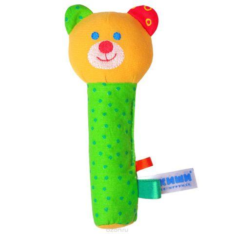 """Мягкая игрушка-погремушка """"Мишка"""""""