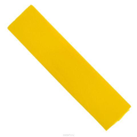 "Крепированная бумага ""Hatber"", флюоресцентная, цвет: желтый, 5 см х 25 см"