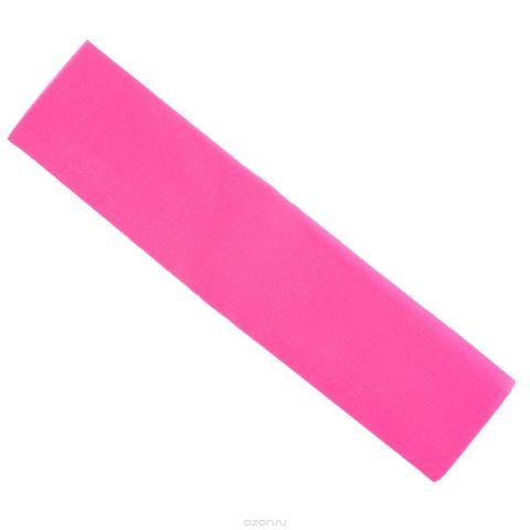 "Крепированная бумага ""Hatber"", флюоресцентная, цвет: розовый, 5 см х 25 см"
