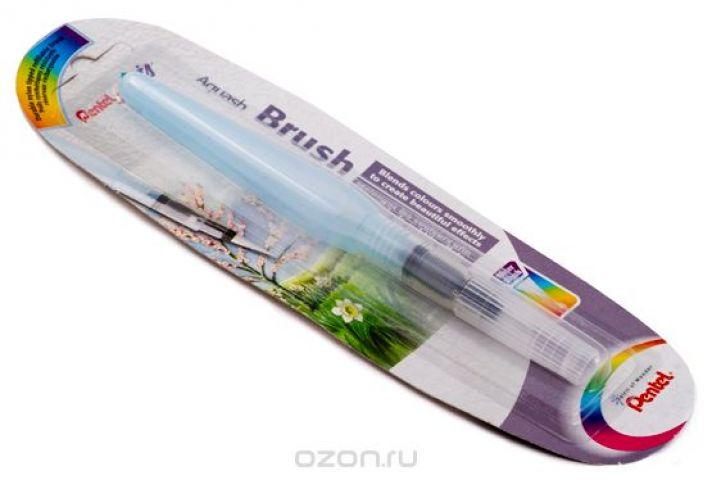 """Кисть с резервуаром Pentel """"Aquash Brush"""", тонкая, 10 мл"""