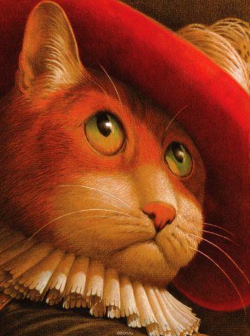 Кот в сапогах. Иллюстрации Фреда Марселлино