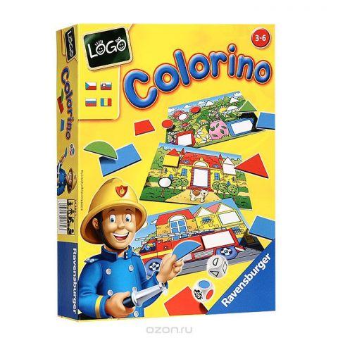 Ravensburger Обучающая игра Colorino Цвета и формы
