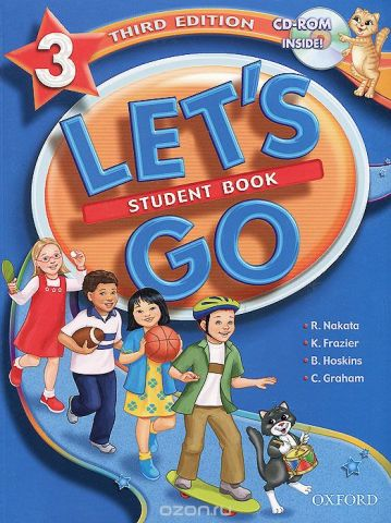 Let's Go 3: Student Book (+ CD-ROM)