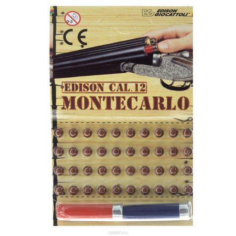 """Edison Пистоны """"Montecarlo"""", с 2 гильзами, 40 шт"""