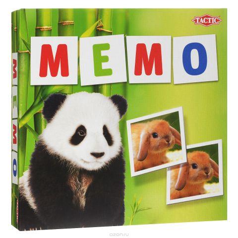 Tactic Games Мемо Зверята