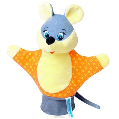 """Мягкая игрушка на руку """"Мышка"""", 25 см в ассортименте"""