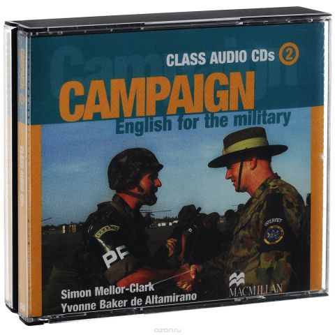Campaign 2: Class Audio CDs: English for the Military (аудиокурс на 3 CD)