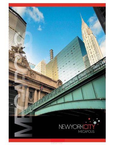 ACTION! Тетрадь Нью-Йорк Мост в клетку 80 листов