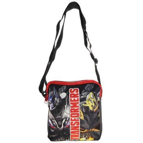 "Сумка детская на плечо ""Transformers Prime"", цвет: серый"