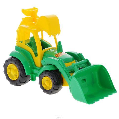Полесье Трактор Чемпион цвет зеленый желтый
