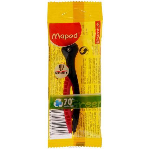 """Циркуль пластиковый Maped """"Essentials"""" с грифелем, цвет: черный, розовый"""