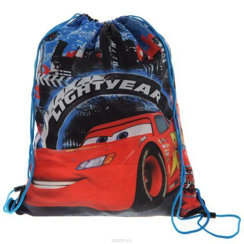 Cars Сумка-рюкзак для обуви цвет голубой красный CRCB-MT1-883