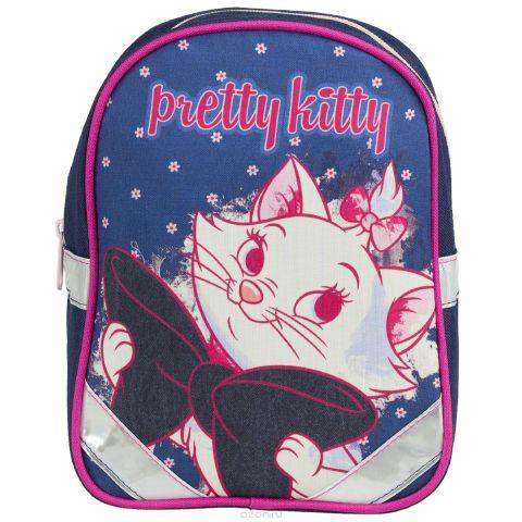"""Рюкзак детский Kinderline """"Marie Cat"""", цвет: синий, белый, розовый"""