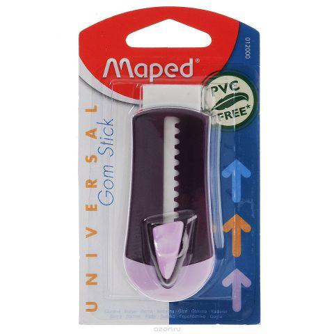 "Ластик технический Maped ""Universal Gom Stick"", в футляре, цвет: фиолетовый"