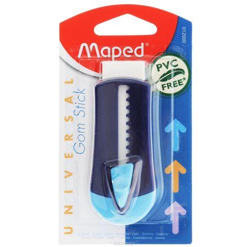 """Ластик технический Maped """"Universal Gom Stick"""", в футляре, цвет: синий"""