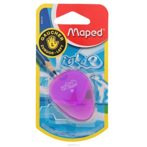 """Точилка Maped """"Igloo"""", для левшей, цвет: фиолетовый"""
