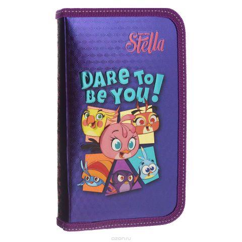 "Пенал Action! ""Angry Birds: Stella"", цвет: фиолетовый"