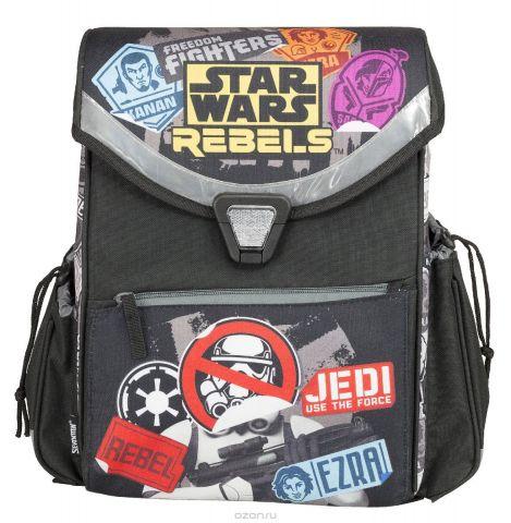 Ранец, с ортопедической спинкой Star Wars Размер 36 х 26,5 х 14 см