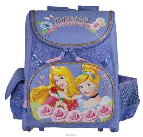 """Ранец школьный Kinderline """"Princess"""", цвет: сиреневый"""