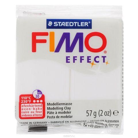 """Полимерная глина Fimo """"Effect"""", цвет: прозрачный, 57 г"""