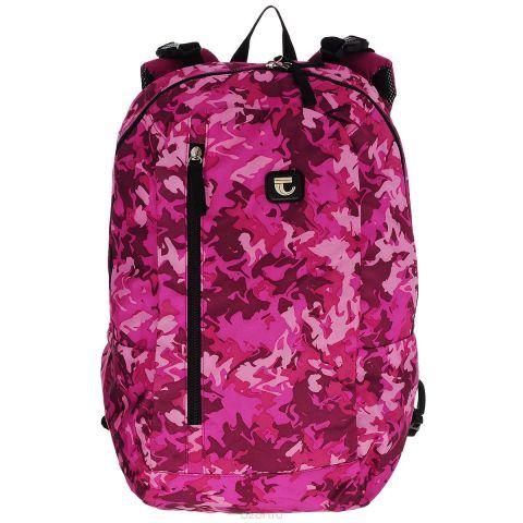 """Рюкзак двусторонний """"Tiger"""", цвет: розовый, бордовый"""