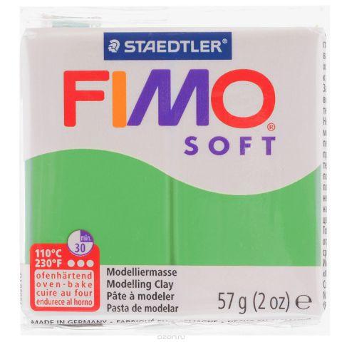 """Полимерная глина Fimo """"Soft"""", цвет: тропический зеленый (53), 57 г"""