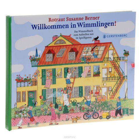 Willkommen in Wimmlingen: Das Wimmelbuch zum Aufsteen mit 34 Spielfiguren