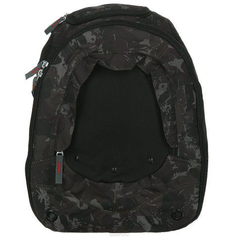 """Рюкзак школьный """"Action"""", цвет: черный, хаки. AB11023"""