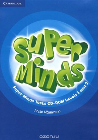 Super Minds: Level 1 and 2: Tests CD-ROM