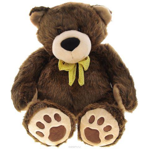 """Мягкая игрушка Plush Apple """"Медведь"""", цвет: коричневый, 75 см"""