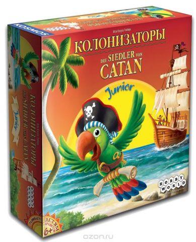 Hobby World Настольная игра Колонизаторы Junior