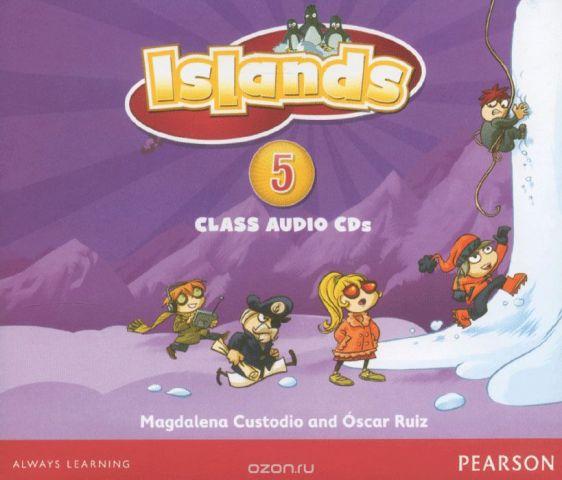 Islands: Level 5: Family Island: Class Audio CD 4 (аудиокурс на 4 CD)
