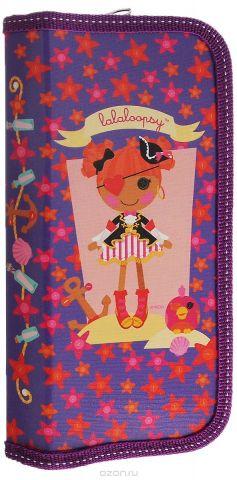 Action! Пенал Lalaloopsy Девочка пират цвет сиреневый